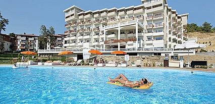 Justiniano Deluxe Resort Hotel Havuz / Deniz