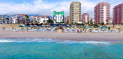 Klas More Beach Hotel Havuz / Deniz