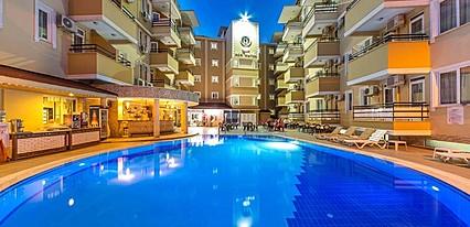 Kleopatra Ada Hotel Havuz / Deniz