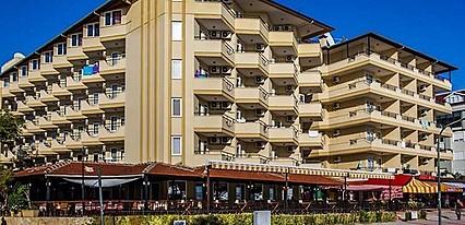 Kleopatra Beach Hotel Genel Görünüm