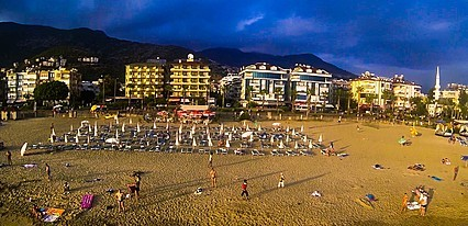 Kleopatra Dreams Beach Hotel Havuz / Deniz