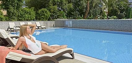 Kleopatra Life Hotel Havuz / Deniz