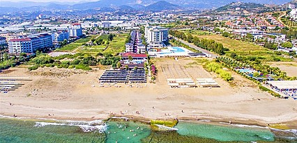 Larissa Holiday Beach Club Genel Görünüm