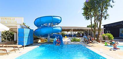 Larissa Holiday Beach Club Havuz / Deniz