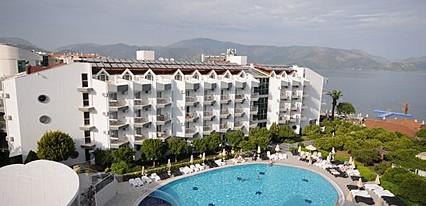 Luna Beach Deluxe Hotel Havuz / Deniz