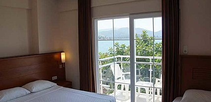Makri Beach Hotel Oda