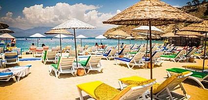 Mara Hotel Fethiye Havuz / Deniz
