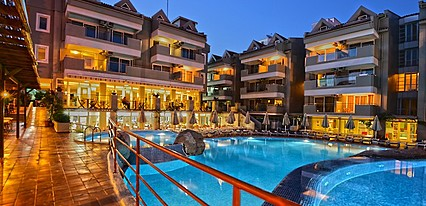Marmaris Begonville Hotel Havuz / Deniz