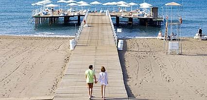 Miracle Resort Hotel Havuz / Deniz
