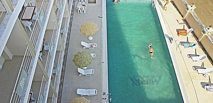 Miray Termal Hotel Havuz / Deniz