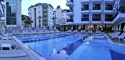 Oba Star Hotel Spa Havuz / Deniz