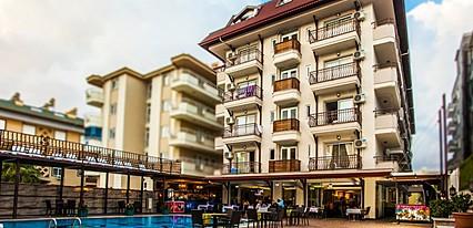Oba Time Hotel Genel Görünüm
