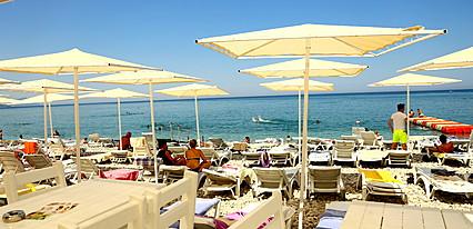 Olimpos Beach Hotel Havuz / Deniz