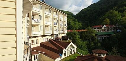 Oylat Kaplicalari Asiyan Otel Genel Görünüm
