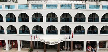 Özcan Beach Hotel Turunç Genel Görünüm