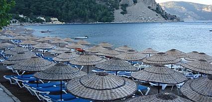 Özcan Beach Hotel Turunç Havuz / Deniz