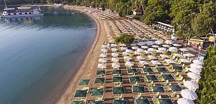 Özkaymak Marina Hotel Havuz / Deniz