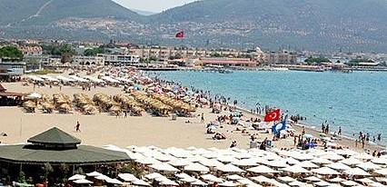 Pekcan Motel Havuz / Deniz