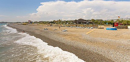 Pemar Beach Resort Hotel Havuz / Deniz