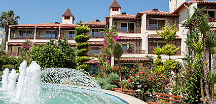 Saphir Hotel Genel Görünüm