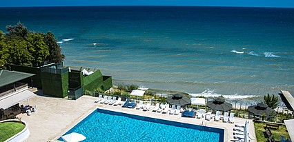 Sayeban Resort & Spa Hotel Havuz / Deniz