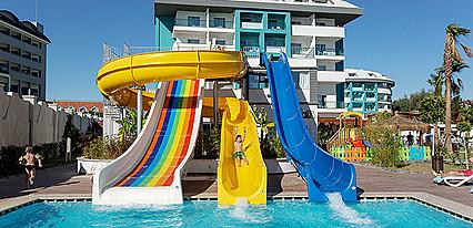 Seashell Resort & Spa Hotel Havuz / Deniz