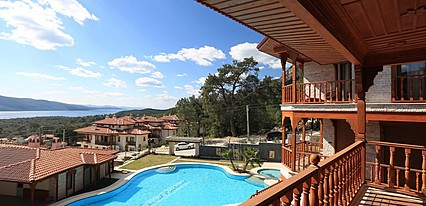 Shimal Residence Hotel Havuz / Deniz