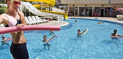 Side Alegria Hotel Spa ex Holiday Point Hotel Spa Havuz / Deniz