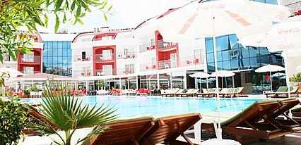Side Rose Hotel Genel Görünüm
