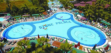 Stone Palace Resort Havuz / Deniz