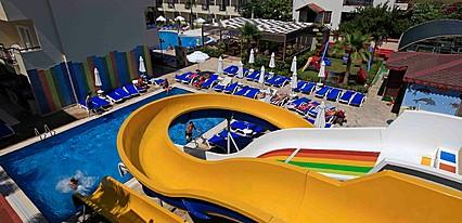 Sun City Apartments & Hotel Havuz / Deniz
