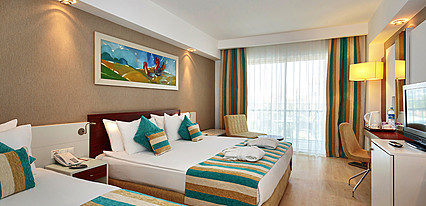 Sunis Evren Beach Resort Hotel & Spa Oda