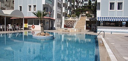Sunpoint Suites Hotel Gumbet Havuz / Deniz