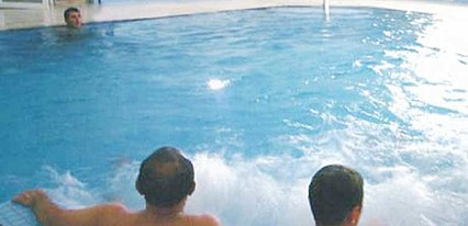 Temur Termal Otel Havuz / Deniz