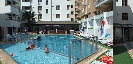 Tuntas Suites Altinkum Havuz / Deniz