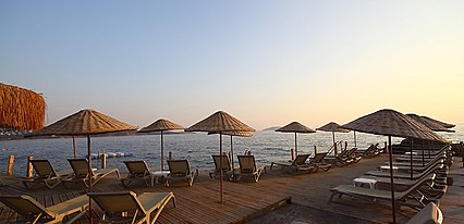 Vega Boutique & Aparts Havuz / Deniz