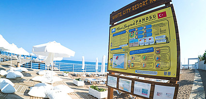 White City Resort Hotel & Spa Havuz / Deniz