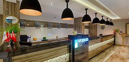 Wonasis Resort & Aqua Hotel Genel Görünüm