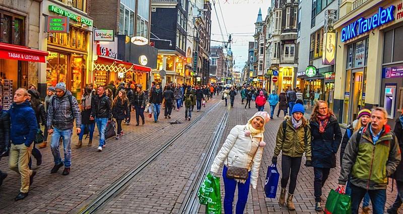 Amsterdam'da Alışveriş