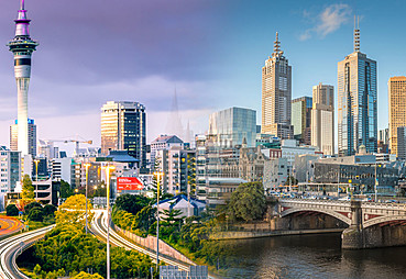 Melbourne - Auckland