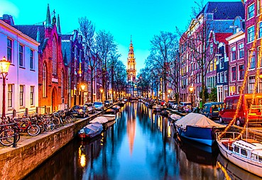 Amsterdam - Rotterdam - İstanbul