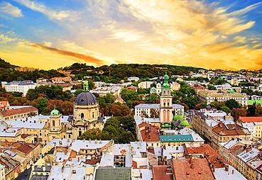 Bükreş-Lviv (otobüsle, yak. 801 km)