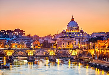 Floransa - (Pisa & Siena Turu) – Roma – (Akşam Yemekli Roma Gece Turu)