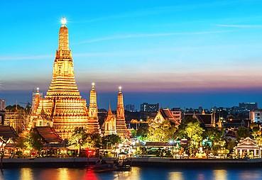 İstanbul - Amman - Bangkok (Uçakta)