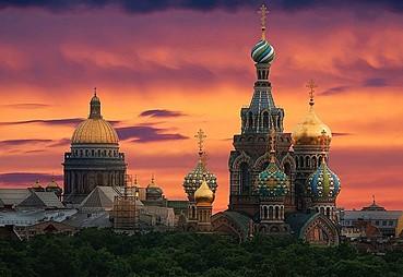 St Petersburg – Moskova