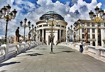 Üsküp – Tetova(Kalkandelen) – Struga – Ohrid